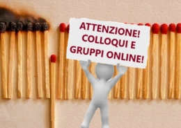 Emergenza sanitaria - colloqui e gruppi online