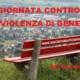 panchina rossa contro la violenza di genere
