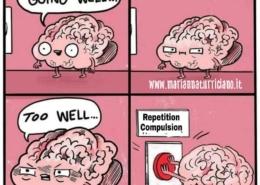 problema, autosabotaggio, nevrosi, compulsione