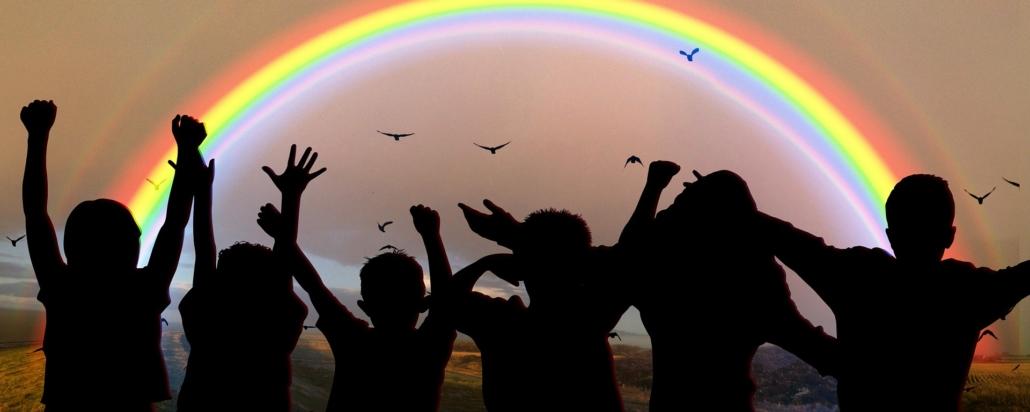 educazione bambini arcobaleno