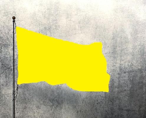 bandiera colore giallo