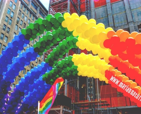 palloncini arcobaleno Pride